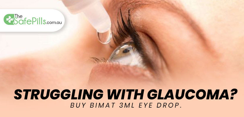 Struggling with Glaucoma? Buy Bimat 3ML Eye Drop