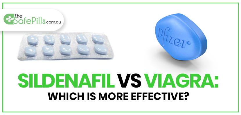 Sildenafil vs Viagra: Which is more effective?